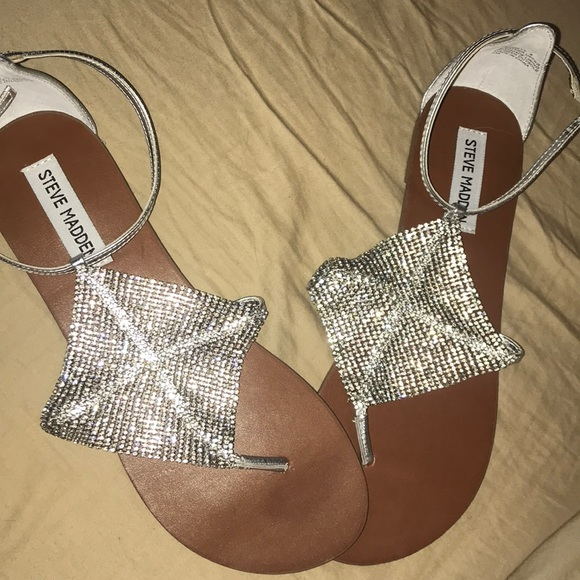 Steve Madden Shoes - Steve madden diamond sandals